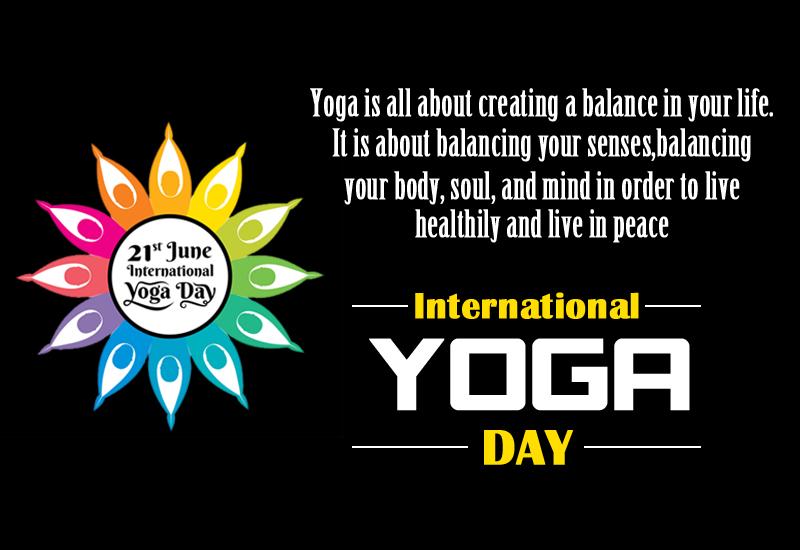 Yoga Day - june 21- 2021